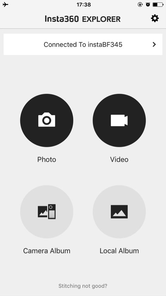 Instructions On Insta360 4k Mobile App Insta360 Help Documents